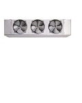 Turbo Air LED168B 3-Fan Electric Defrost Unit Cooler with PSC Motor 16,880Btu