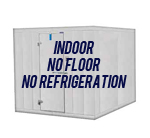Indoor, No Floor, No Refrigeration