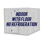 Indoor, with Floor, No Refrigeration